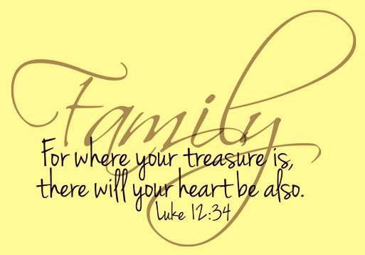 family-where-your-treasure-is