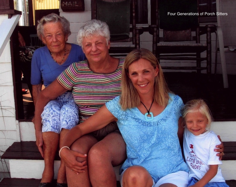 Four Generations of Porch Sitters