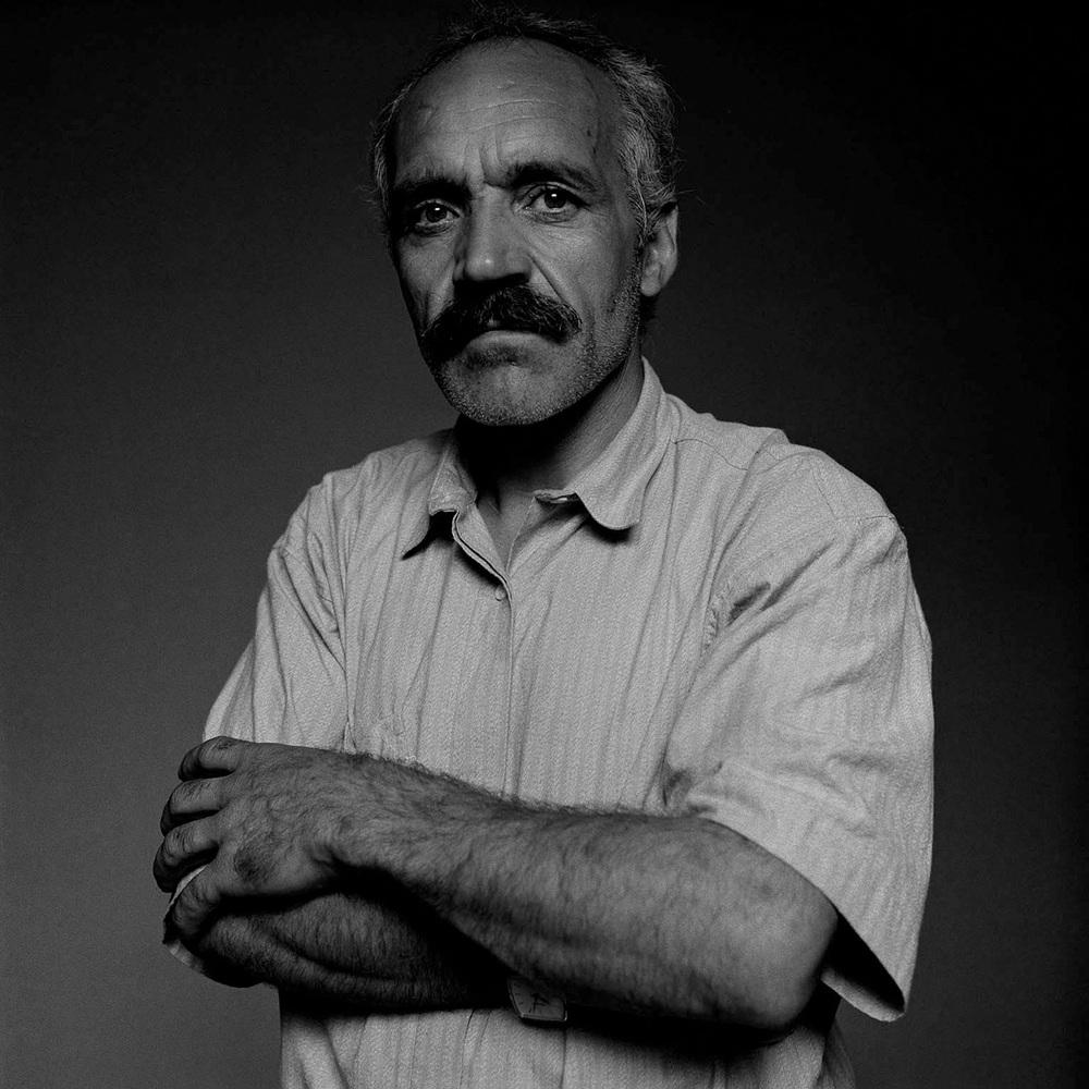 Ismail, Kurd, Iraq, 1991 (125cm x 125cm)