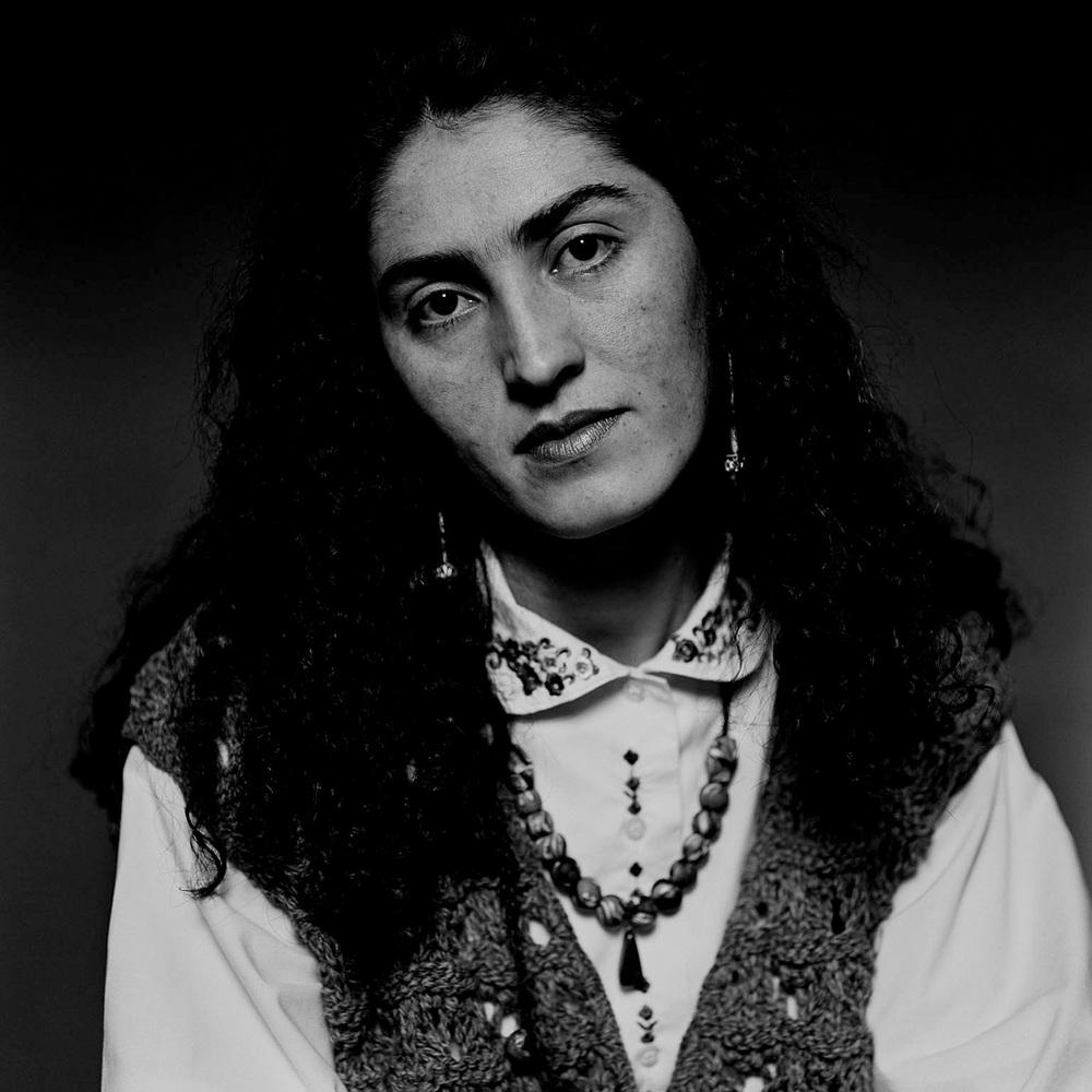 Ayla, Kurd, Turkey, 1993 (125cm x 125cm)