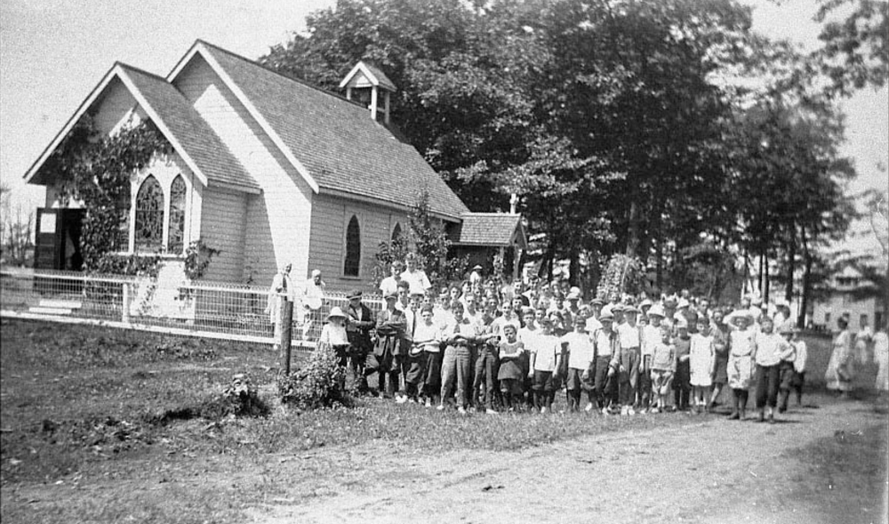 Good Samaritan & Camp Couchiching campers of yesteryear.