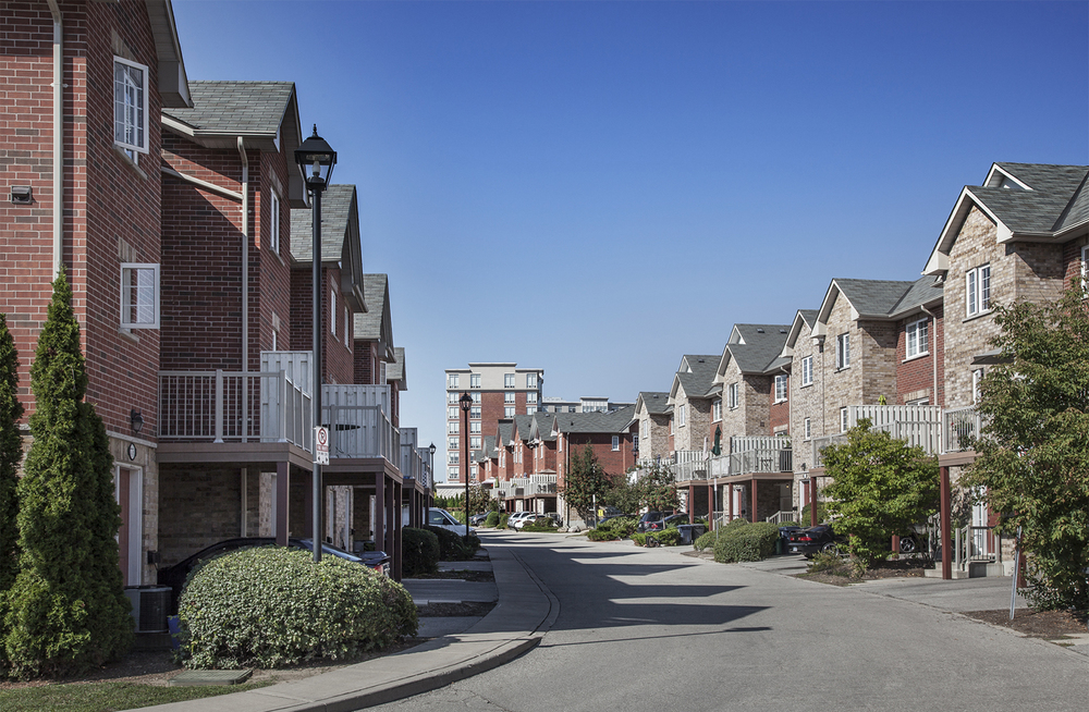 Residential Townhomes and Apartments for Lease