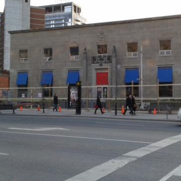April 13, 2015  - UrbanToronto.ca:  Construction Under Way on Rockport's Montgomery Square