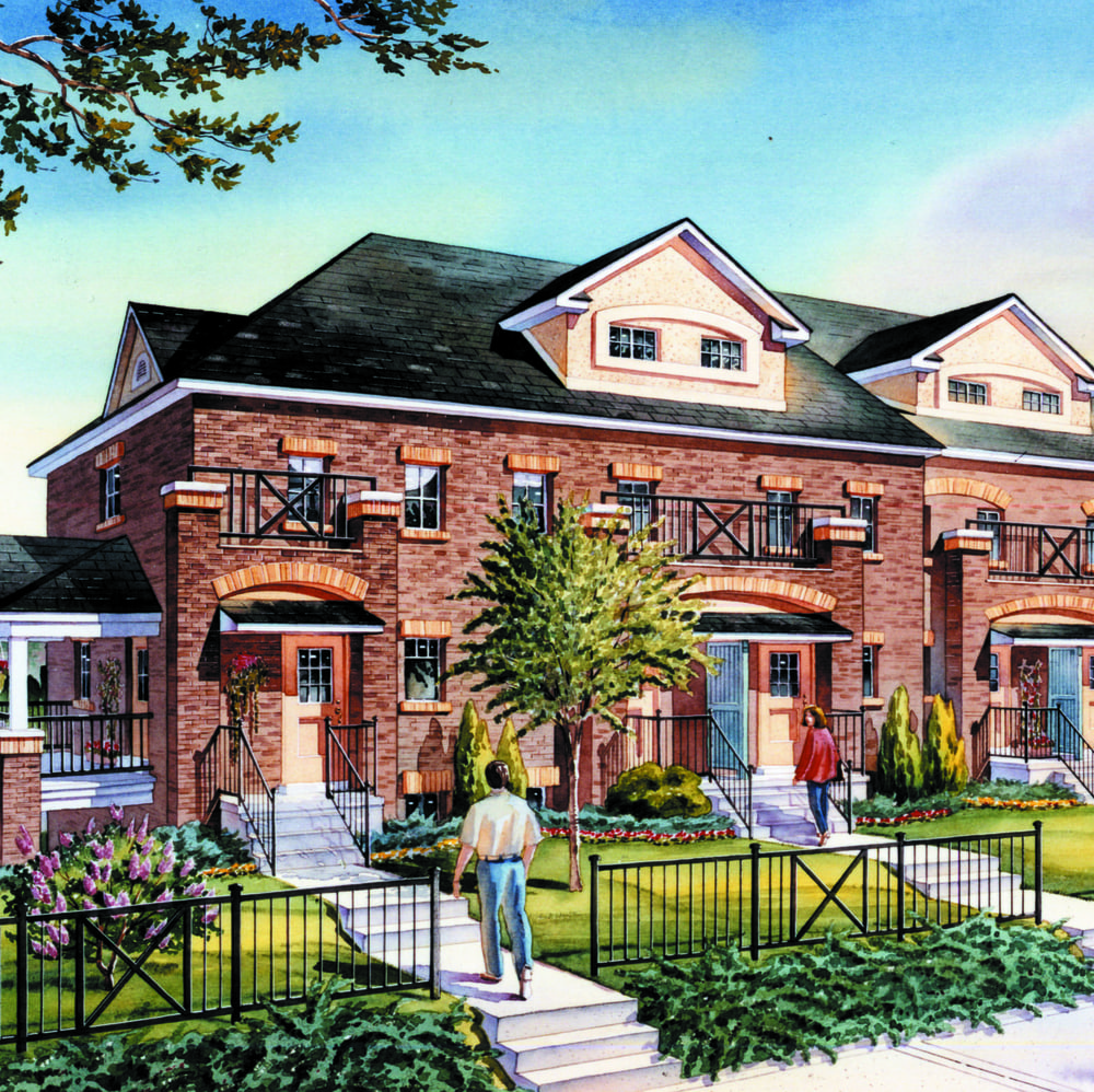 1999: Harmony Town Homes- Scarborough, Ontario