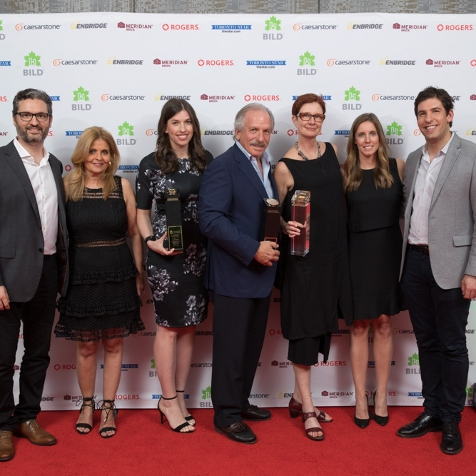 May 6, 2017 - Toronto Star:     BILD Awards celebrate building industry's best, brightest