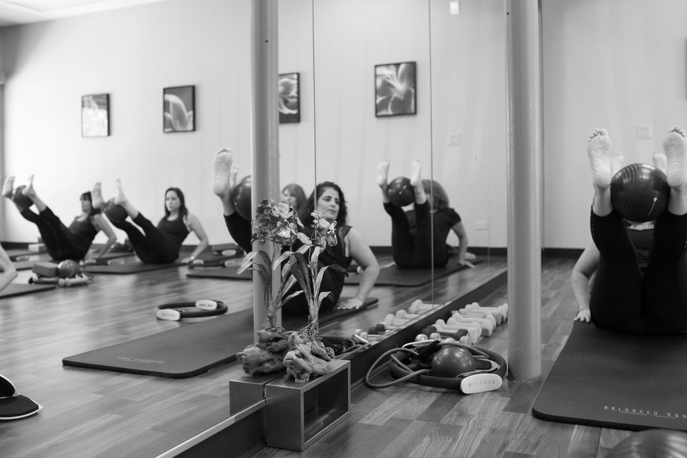 The Core Method Pilates Teacher Training at our Northbrook Studio