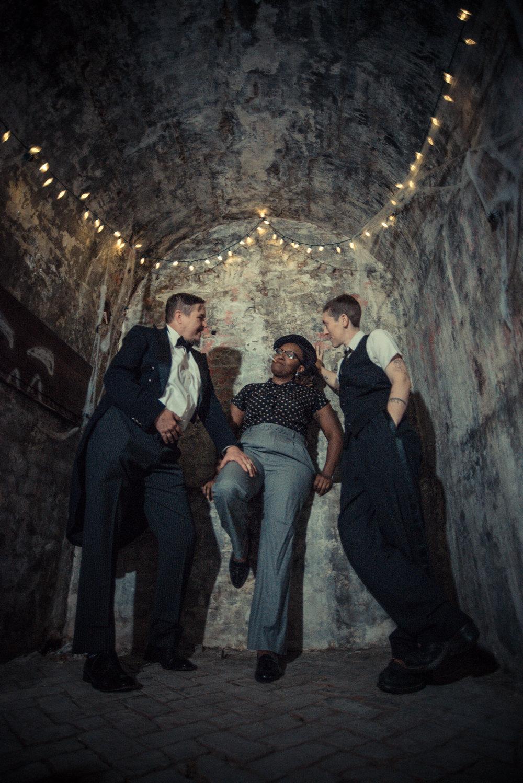 OOS (L to R) Sarah Paradise, Lisa Evans, Silky Shoemaker PC Robbie Sweeny.jpg