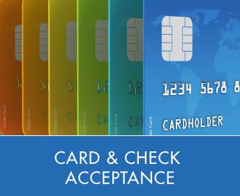 Card & Check Acceptance