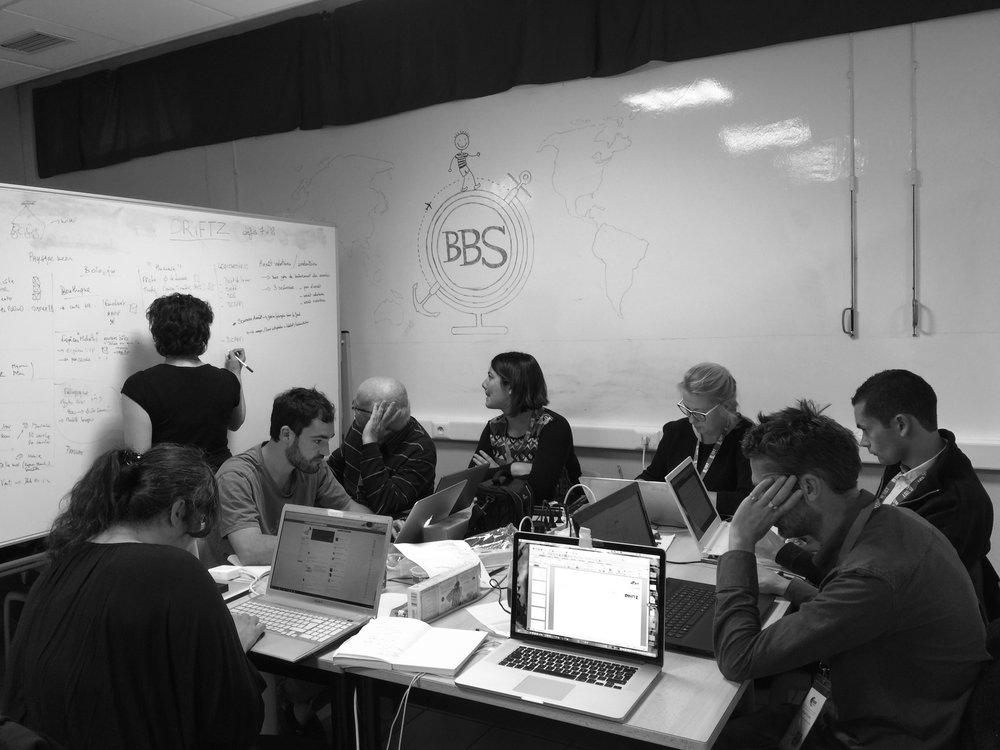 """""""Ocean Hackathon"""", projet DRiFTZ, 7-8-9 octobre 2016."""