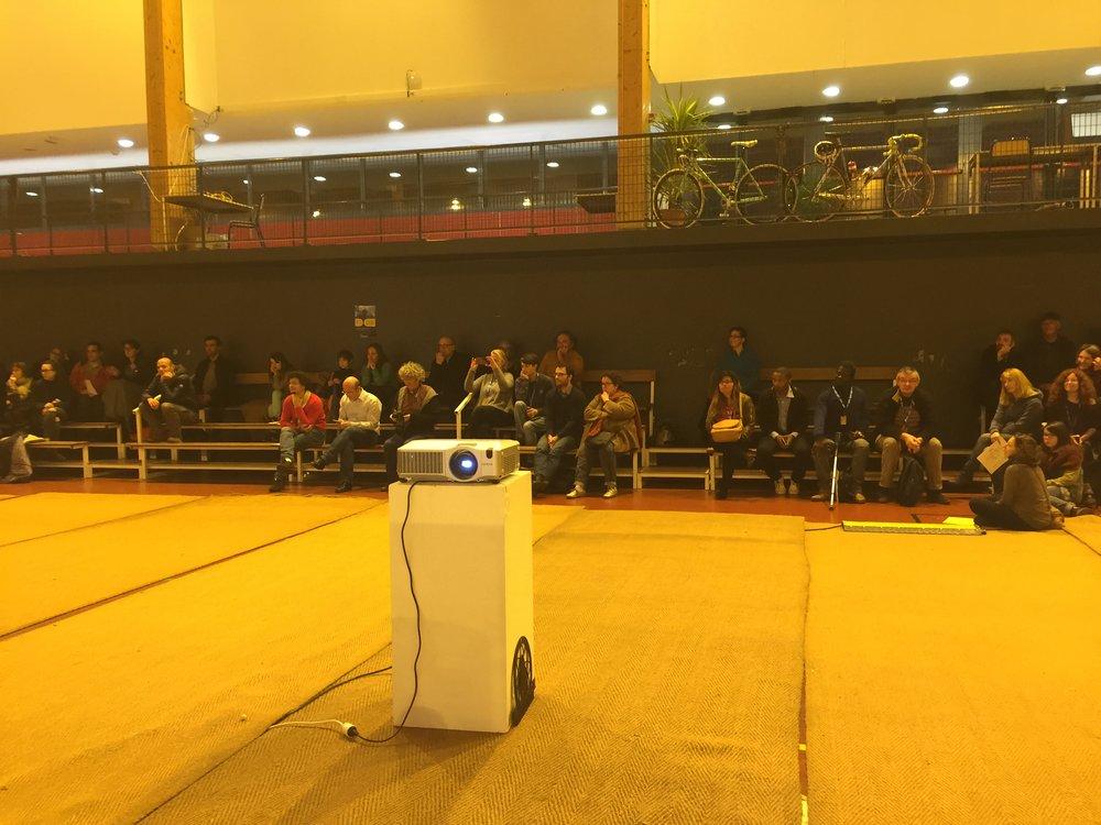 Présentation des projets citoyens,Science Hack Day, Brest, 27 novembre 2016