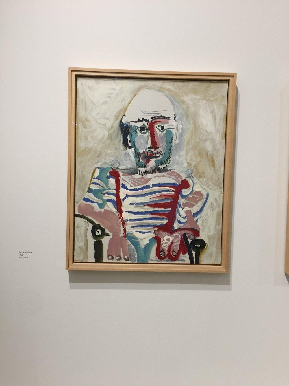 Pablo Picasso, 1965, Huile sur Toile, coll. part.