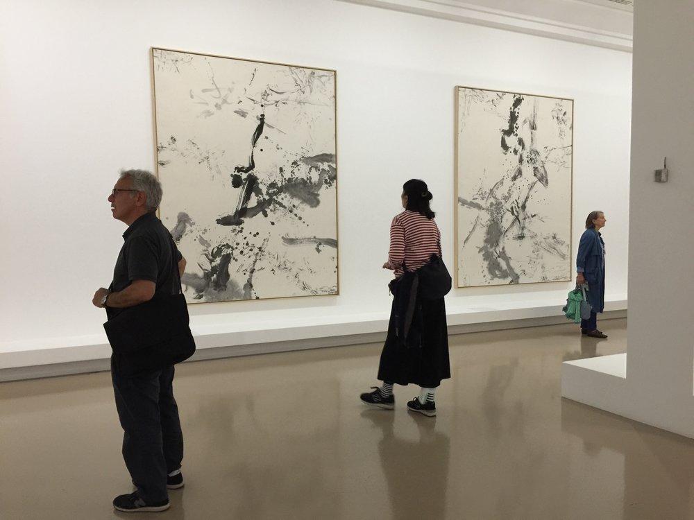 """Zao Wou Ki au MAM, """"L'espace est Silence"""", 10 octobre 2018, Paris."""