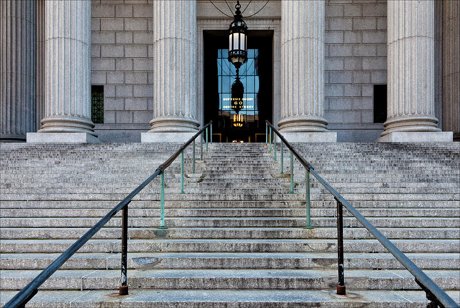 Most of our New York divorce actions take place up these steps at the New York County Supreme Court at 60 Centre Street in Downtown Manhattan.