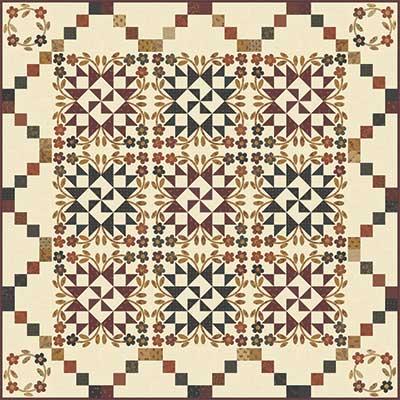 """Blooming Stars"" Pattern"