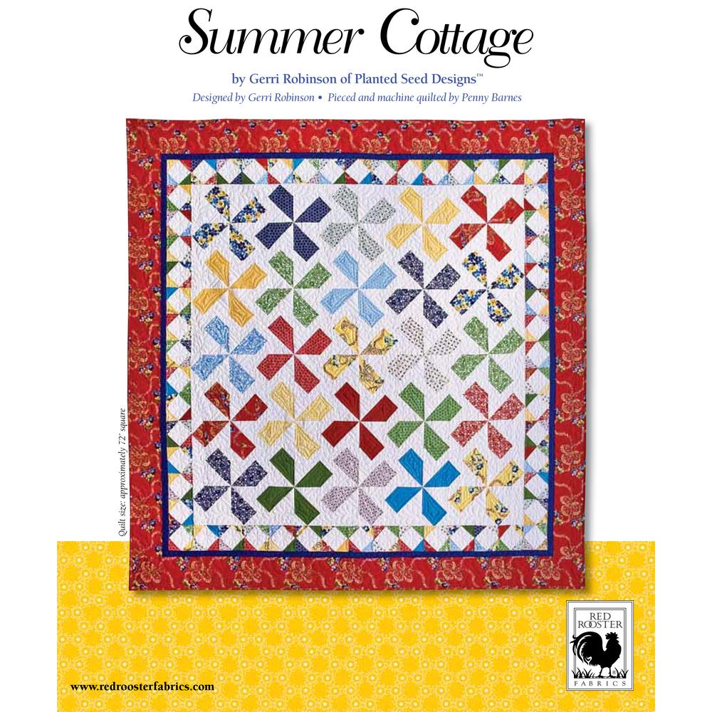 Summer Cottage<br />FREE PATTERN