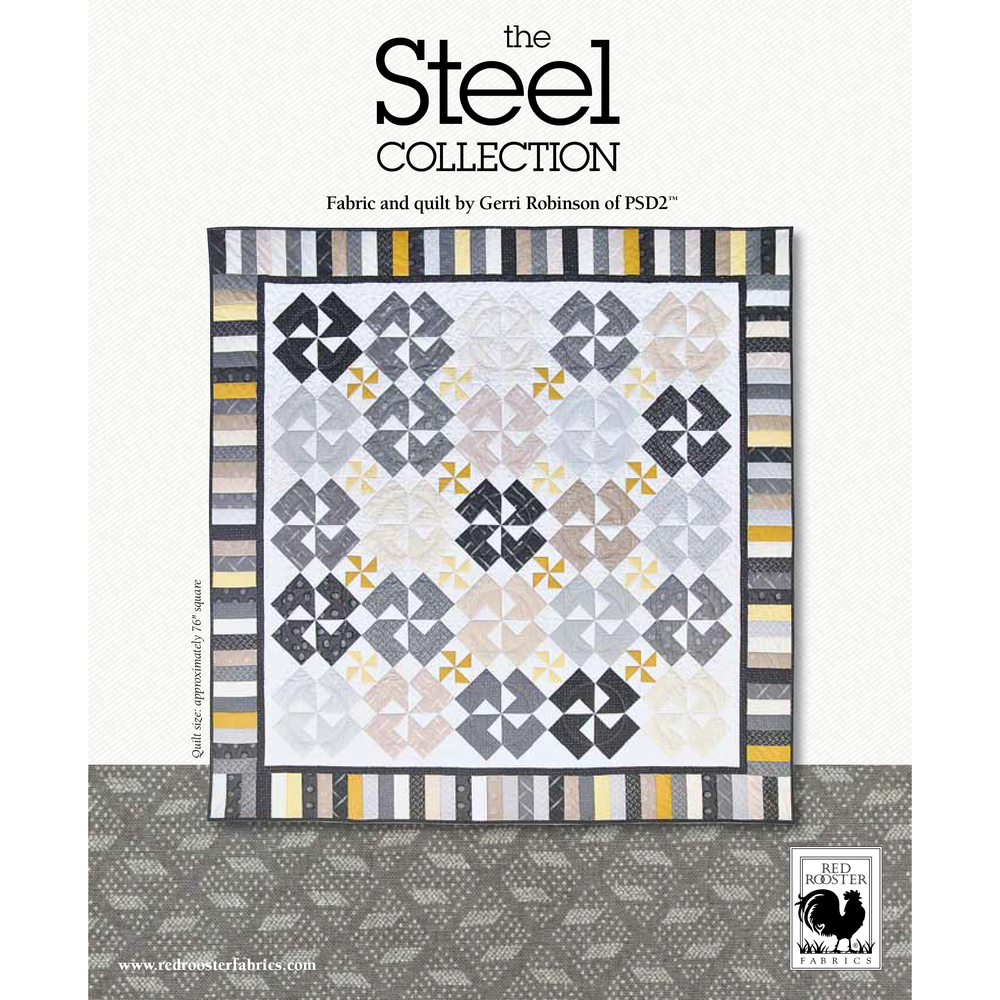 The Steel Collection<br />FREE PATTERN
