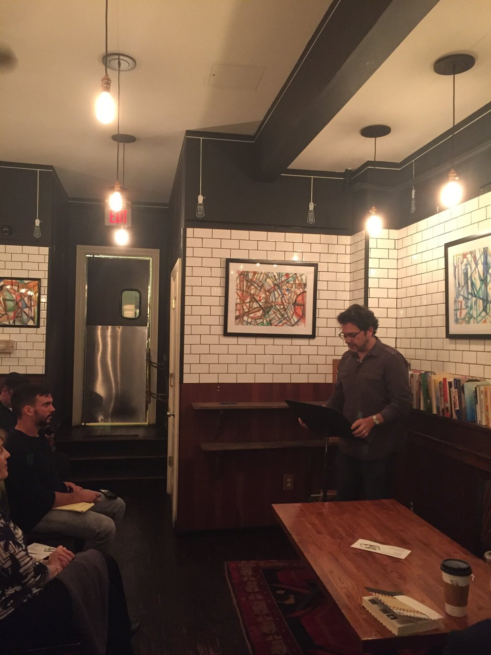 Ben Greenman reads a series of short-short stories