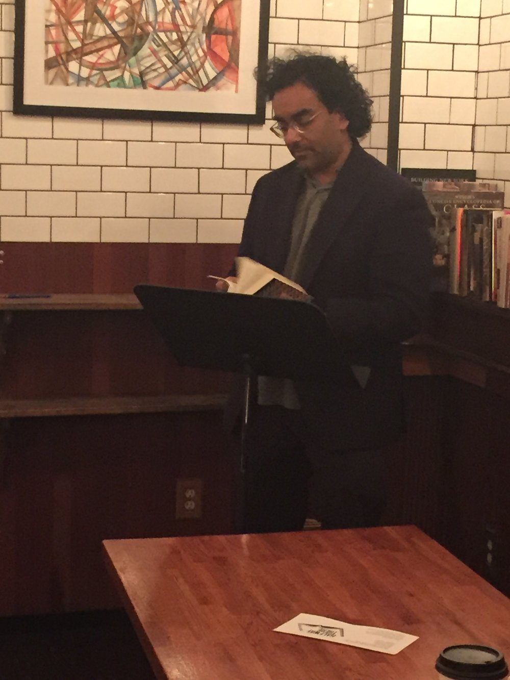 Mark de Silva reads from SQUARE WAVE