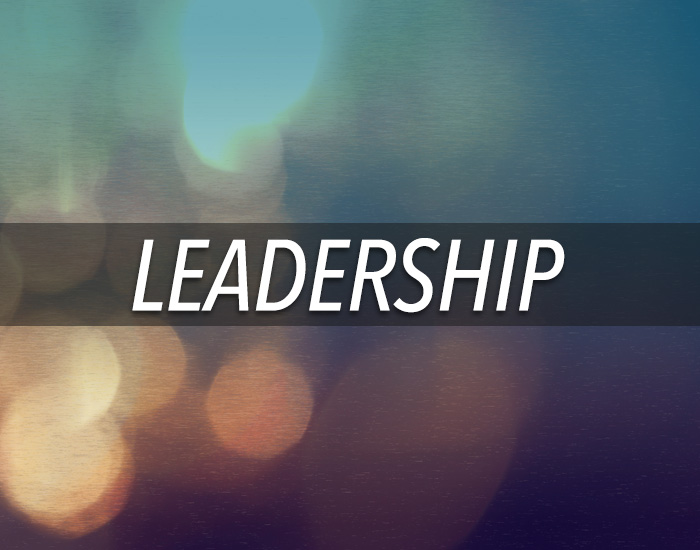 everybody leads somebody. develop leadership skills through study, practice, and relationships