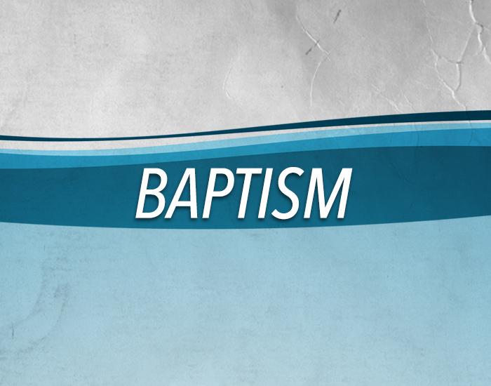 find information about children's baptism, grades 2 through 5