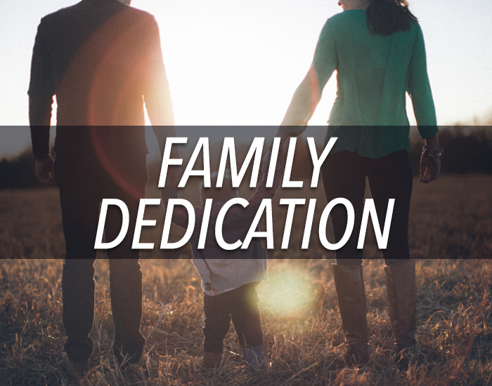 learn more about dedicating your children to god