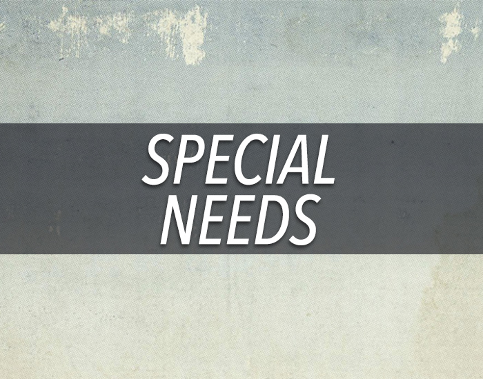 special care for children with special needs