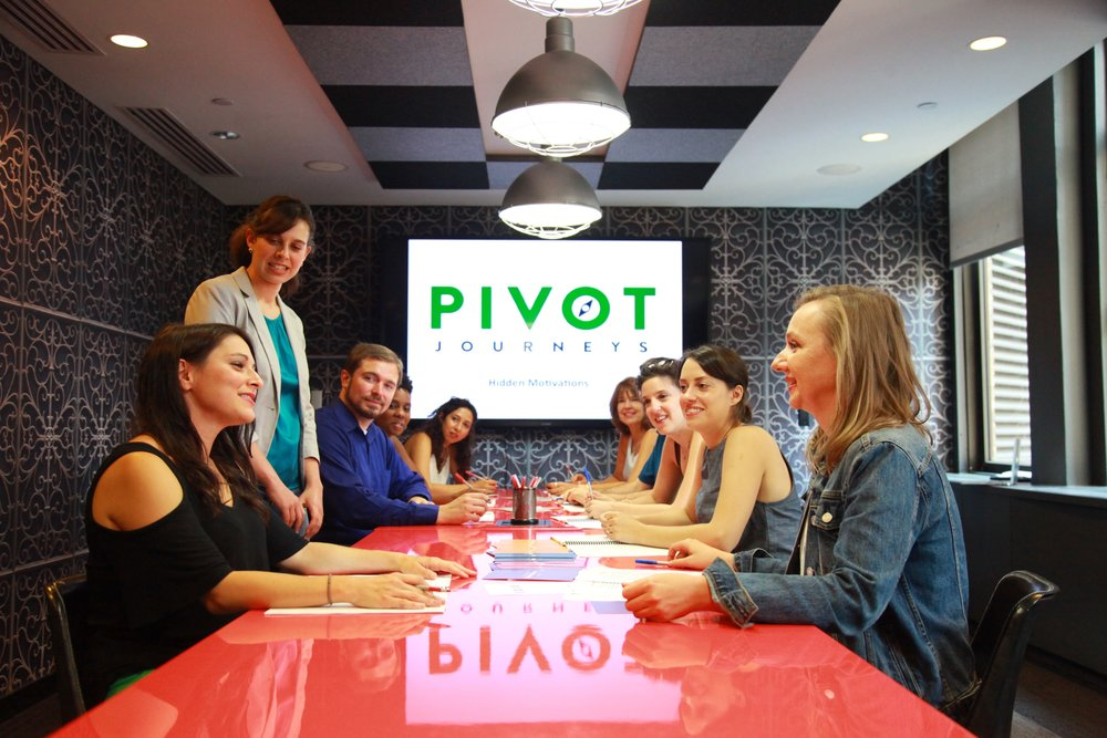 Pivot Journeys   experiences for career growth and development