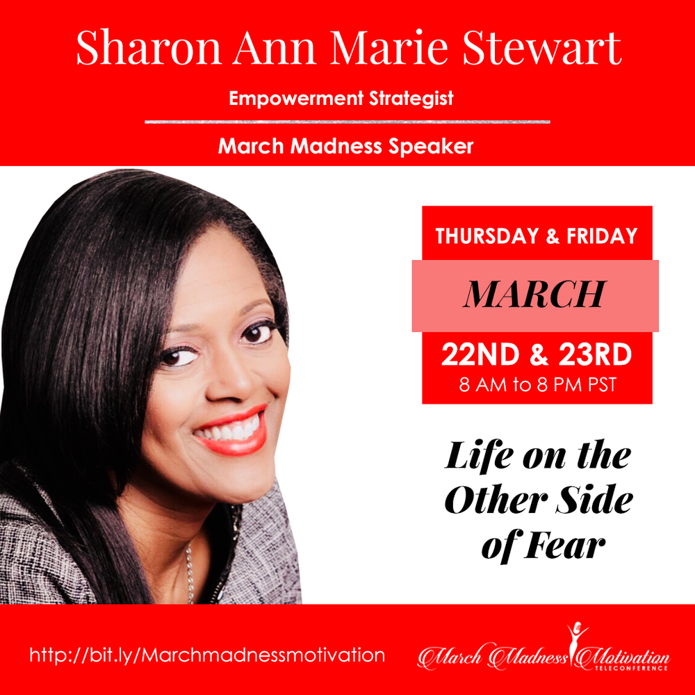 Sharon Ann Marie March Madness Motivation Speaker.png