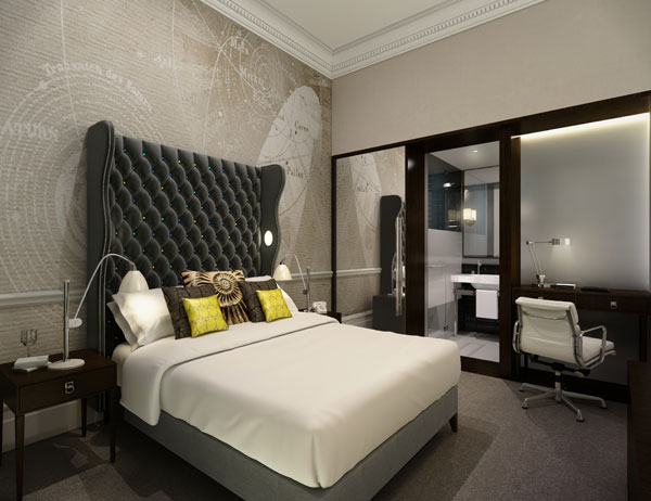 Ten steps to creating a boutique hotel bedroom for Boutique hotel design
