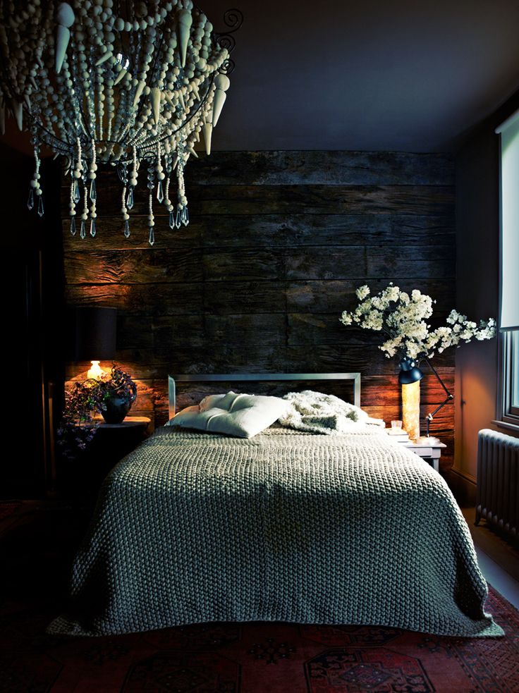 Designer Abigail Ahern's Bedroom   {Source: Pinterest}