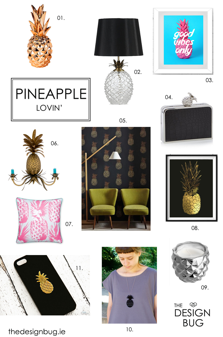 The Design Bug Pineapple Blog _Shop the Look