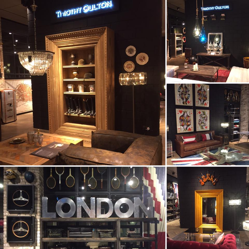 Lovin the @timothyoulton store in Dubai Mall #thedesignbug #design #interiordesign #timothyoulton #dubai#dubaimall #mirror #table #sofa #lighting #8ball #britishdesign #homedecor