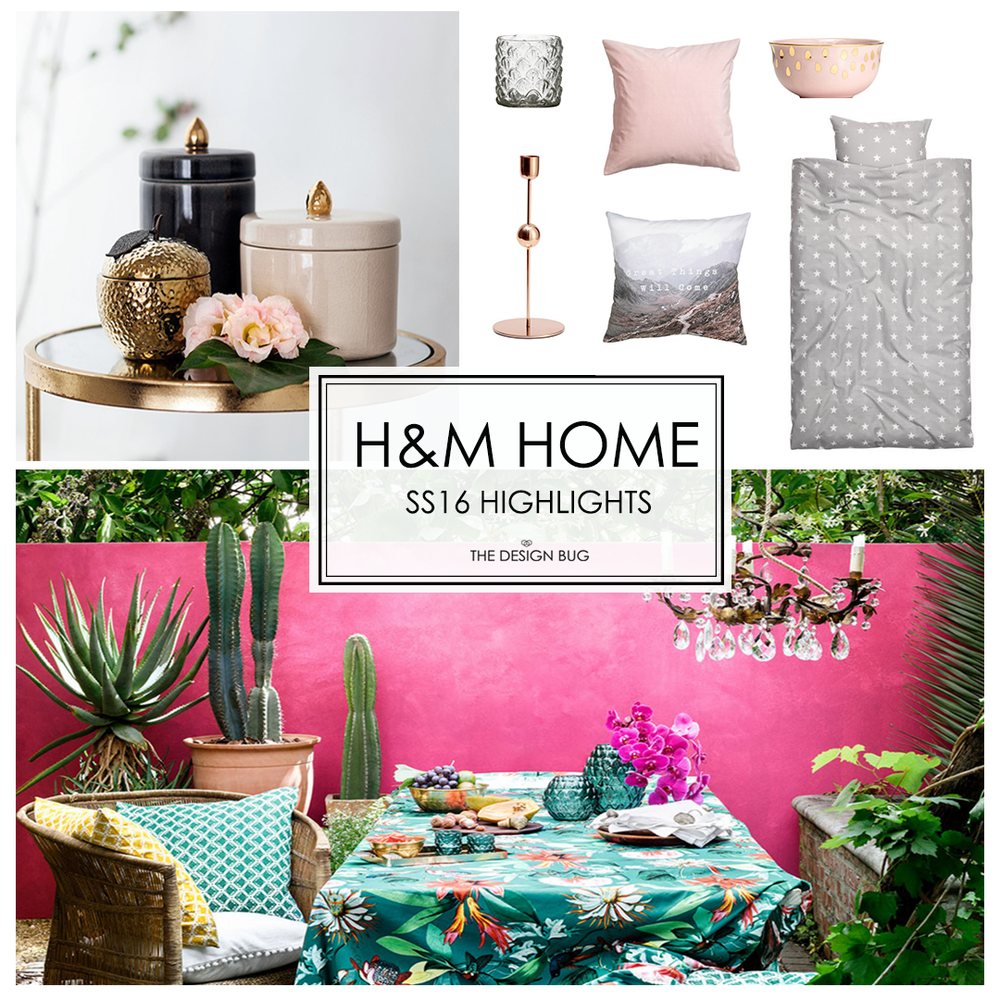 The Design Bug H&M Home SS16