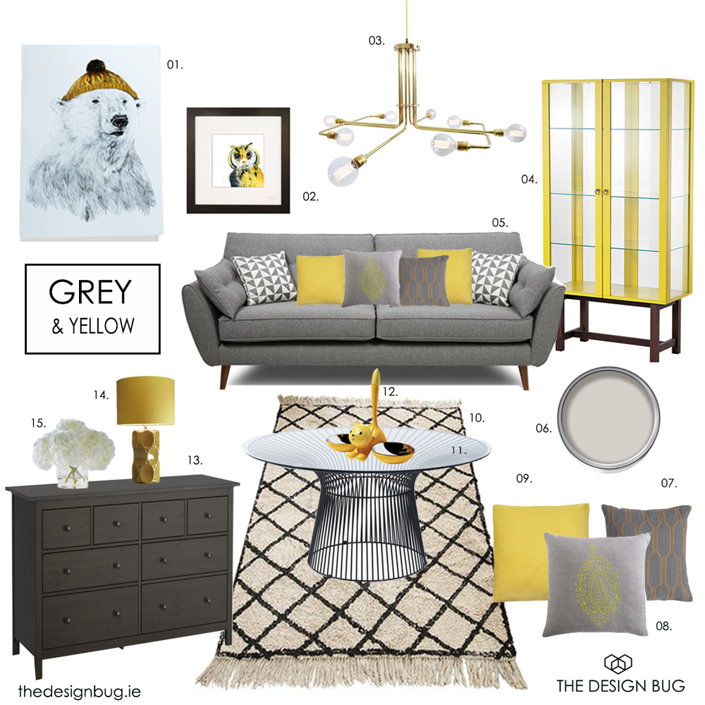 thedesignbug.ie grey yellow