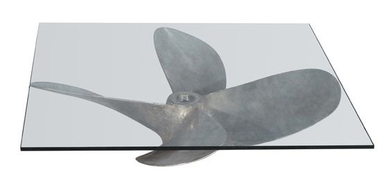 Timothy Oulton Junk Art Propeller Coffee Table