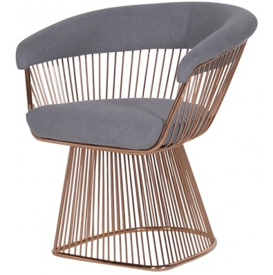 Spoke Edgings Armchair