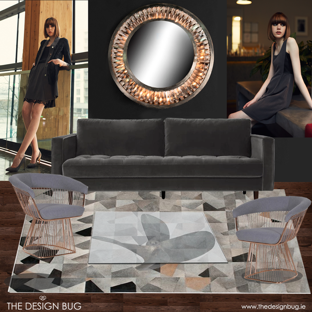 Interior inspired by the Ingalls Airborne Collection