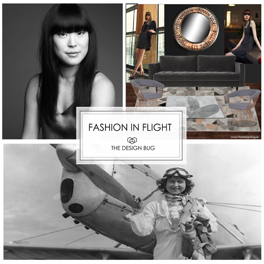 thedesignbug fashion in flight