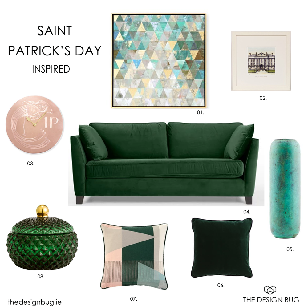 thedesignbug.ie Patricks day inspired