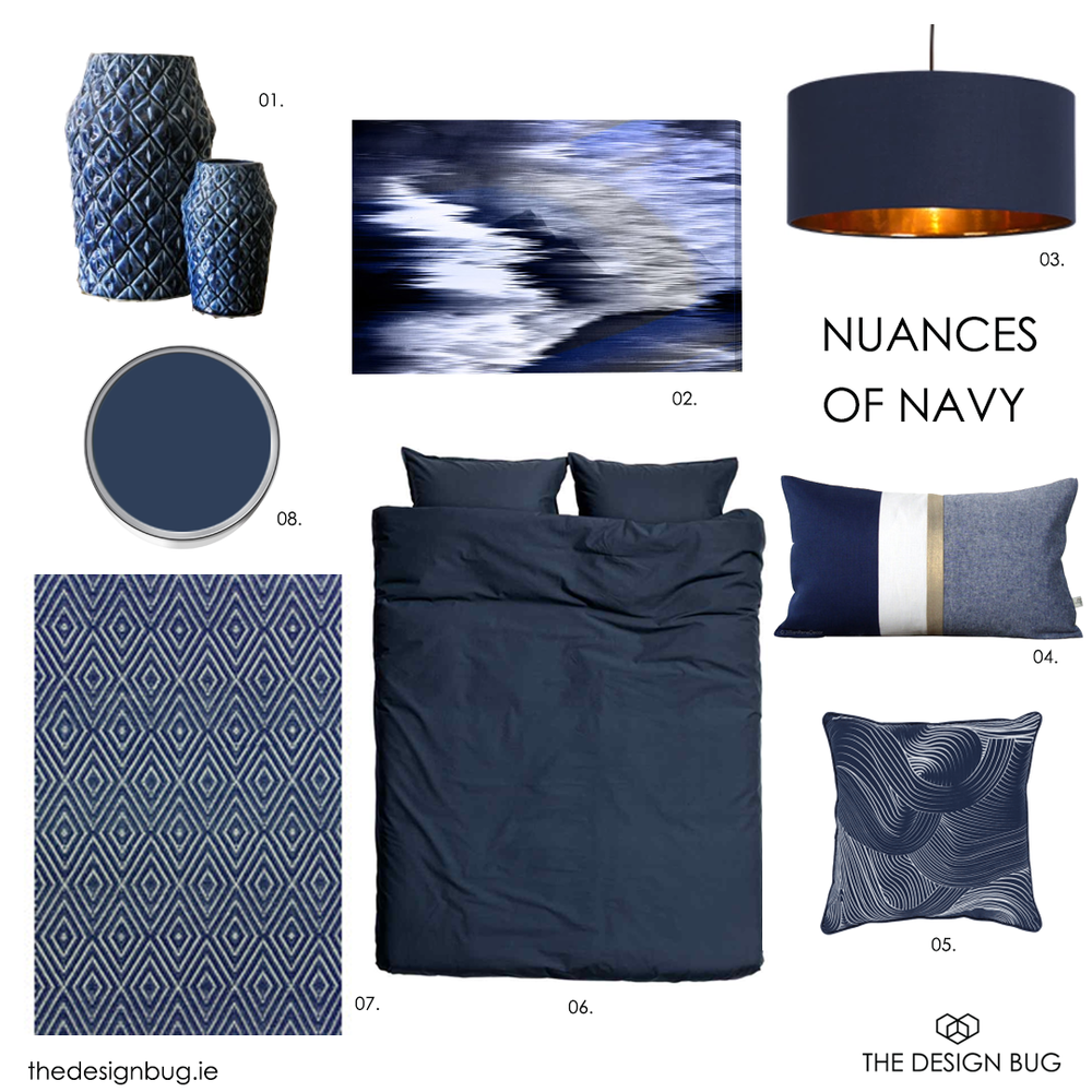 Thedesignbug.ie nuances of navy