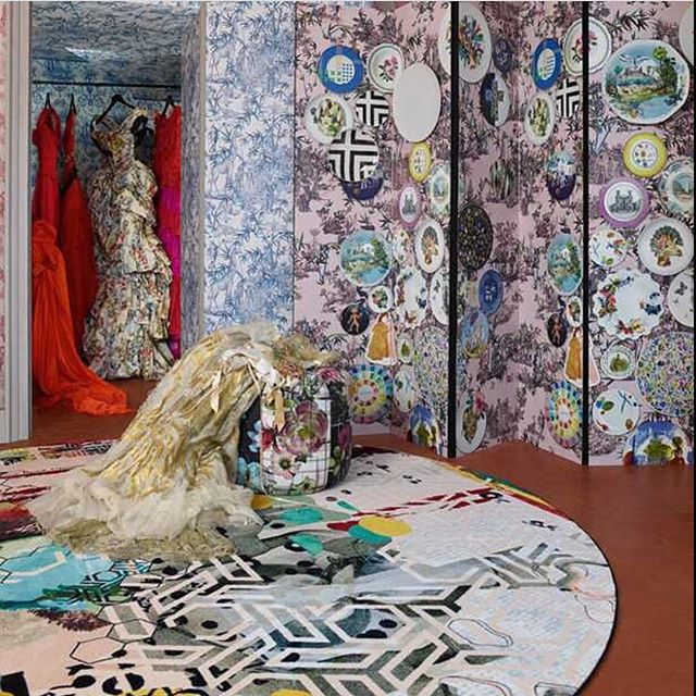 I'm lovin this Christian Lacroix rug!! Love the eclectic collage of patterns on the Grande Tour Tomette rug by @lacroixofficiel available from @therugseller 😍 It's gorgeous colour palate and striking design will make a stunning feature in any space ❤️ Divine!! #thedesignbug . . . . . . #rug #christianlacroix #designer #fashion #luxe #luxedecor #pattern #fashiondesigner  #colour #interiors #interiordesigner #design #decor #interiorinspiration #interiorinspo #inspo #style #homedecor #irishblog #luxeinteriors #interiorblog #interiordecor #interiorstyling #instainteriors #instadecor #instagood #love