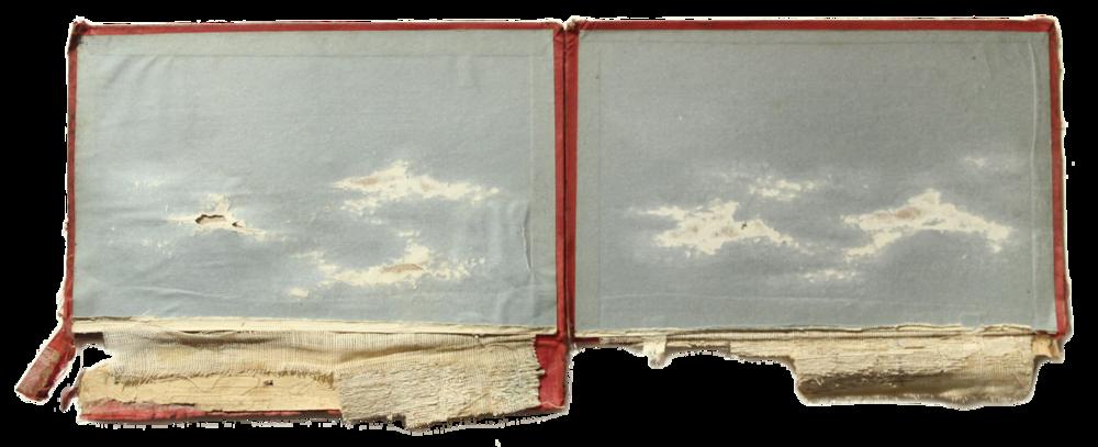 RFRAME  Técnica: Mixta sobre carátula de libro  Medida: 46 x 16 cm  Año: 2014