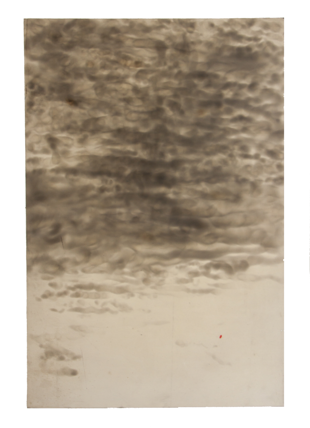 HN  Técnica: Hollín sobre tela  Medida: 120 x 80 cm  Año: 2014