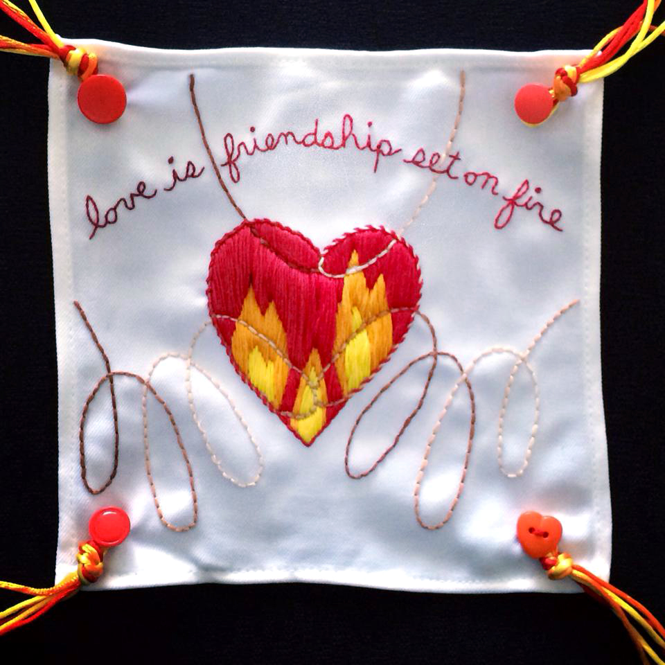 love is friendship set on fire - 2014