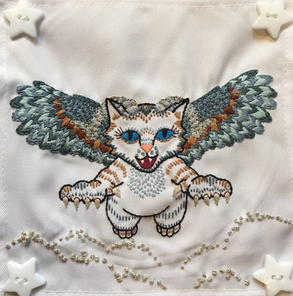 Owl Winged Ram Kitten - 2017