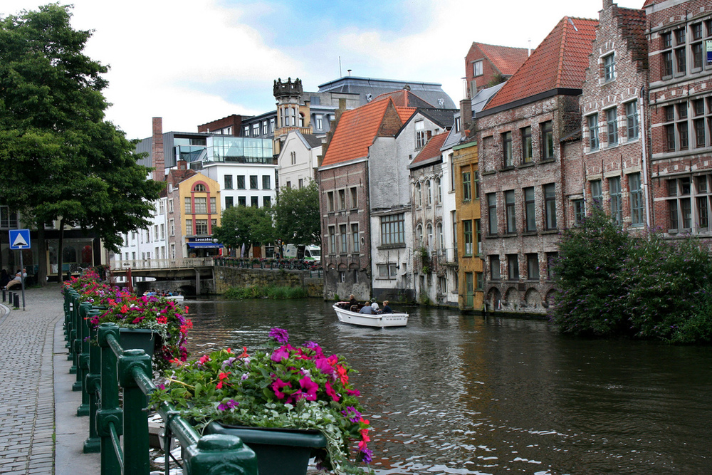 Ghent, Belgium, is one of several of Gigi Griffis' favorite places to travel.