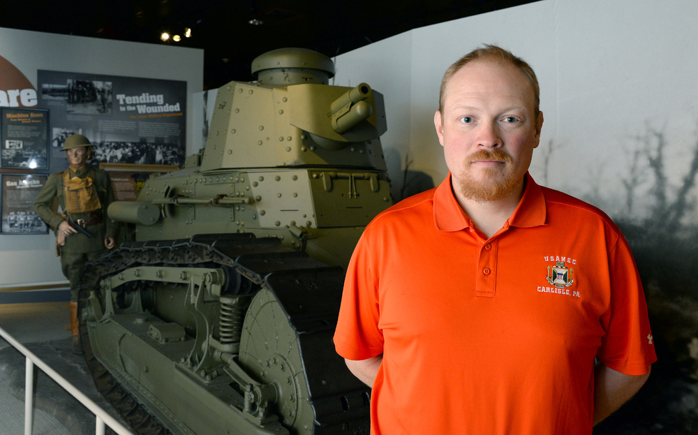 Kaleb Dissinger '02-'04M is a curator at the US Army Heritage and Education Center in Carlisle.