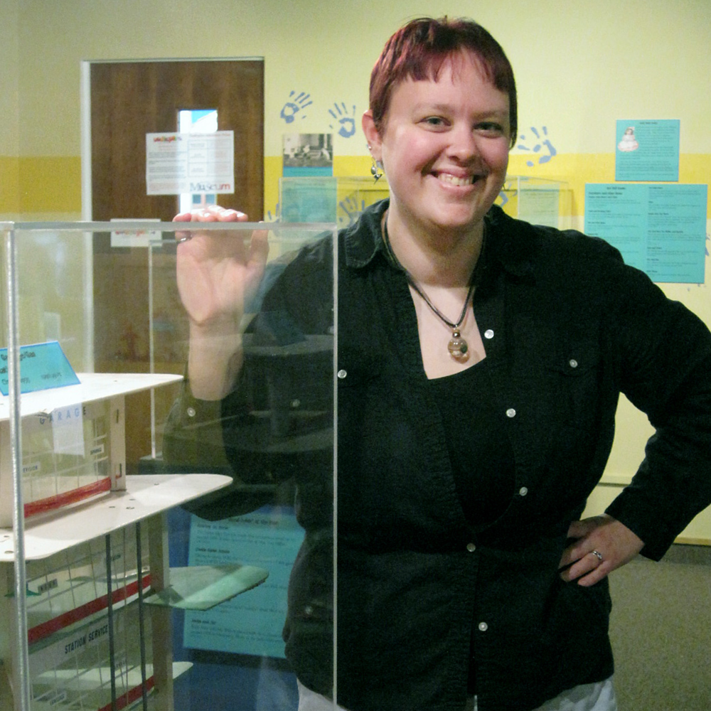 Ashley Maready '08M splits her time between the Reno County Museum and Strataca: Kansas Underground Salt  Museum.