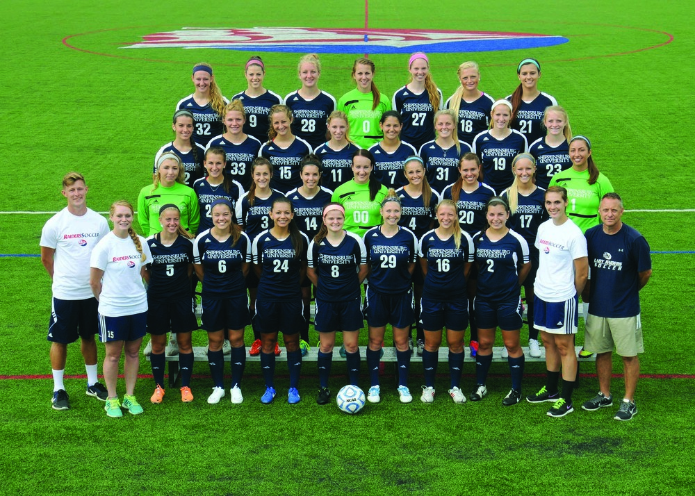 SU's women's soccer team was honors by NSCAA.