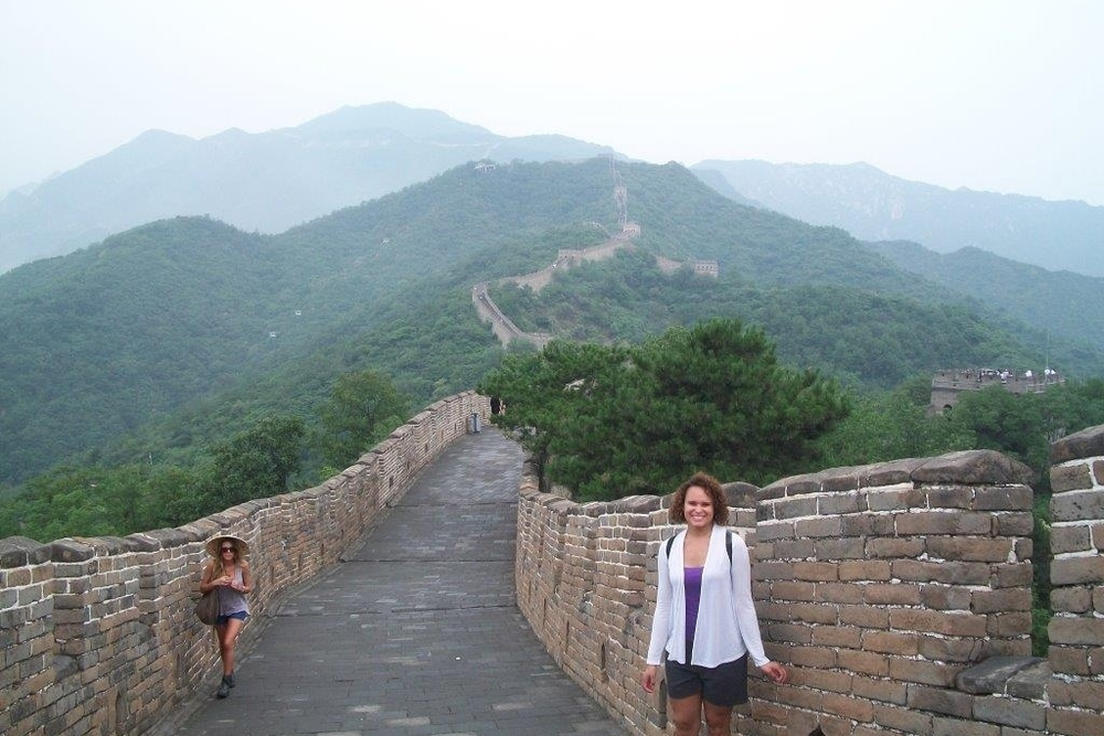 Isabel Scott '13 learned about international business practices firsthand when she traveled to Shanghai, China, with her class.